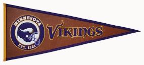 Minnesota Vikings Pigskin Pennant Traditions Pennant