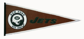 New York Jets Pigskin Pennant Traditions Pennant