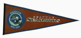 Seattle Seahawks Pigskin Pennant Traditions Pennant