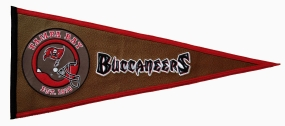 Tampa Bay Buccaneers Pigskin Pennant Traditions Pennant