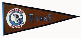 Tennessee Titans Pigskin Pennant Traditions Pennant