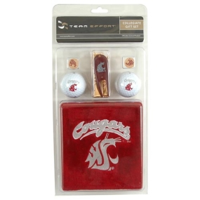 Washington State Cougars Golf Gift Set