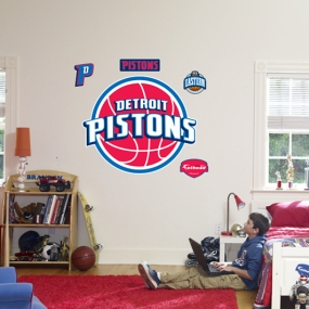Detroit Pistons Logo Fathead
