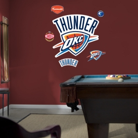 Oklahoma City Thunder Logo Fathead