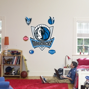 Dallas Mavericks Logo Fathead
