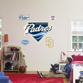 San Diego Padres Logo Fathead