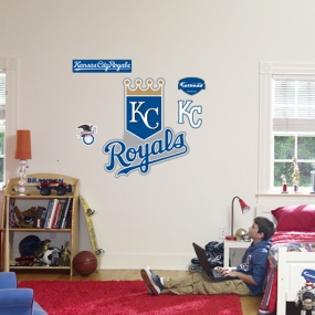Kansas City Royals Logo Fathead