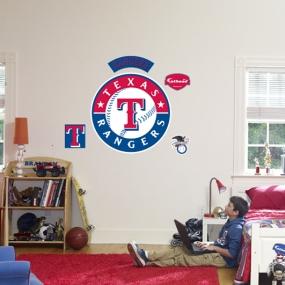 Texas Rangers Logo Fathead