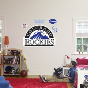 Colorado Rockies Logo Fathead