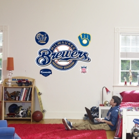 Milwaukee Brewers Logo Fathead