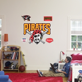 Pittsburgh Pirates Logo Fathead