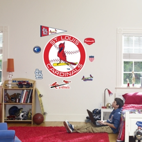 St. Louis Cardinals Classic Logo Fathead