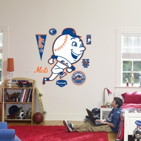 New York Mets Classic Logo Fathead