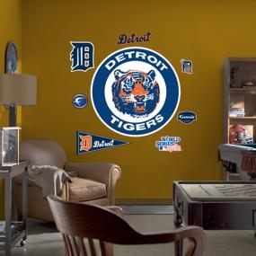 Detroit Tigers Classic Logo Fathead