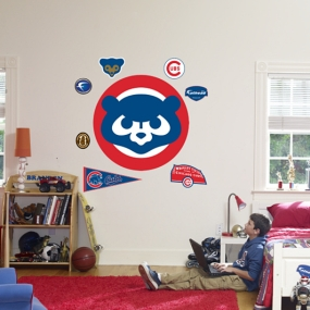 Chicago Cubs Classic Logo Fathead
