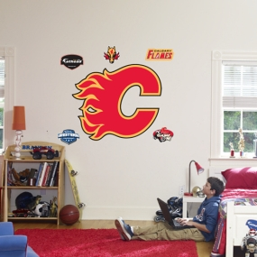 Calgary Flames Logo Fathead