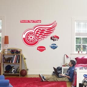 Detroit Red Wings Logo Fathead