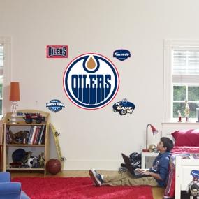 Edmonton Oilers Logo Fathead