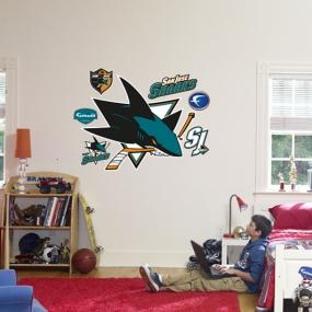 San Jose Sharks Logo Fathead