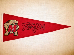 Maryland Terrapins Vintage Traditions Pennant