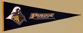 Purdue Boilermakers Vintage Traditions Pennant
