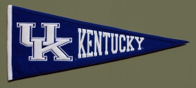 Kentucky Wildcats Vintage Traditions Pennant