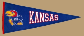 Kansas Jayhawks Vintage Traditions Pennant