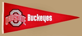 Ohio State Buckeyes Vintage Traditions Pennant