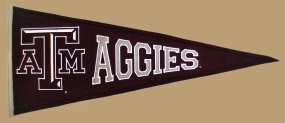 Texas A&M Aggies Vintage Traditions Pennant