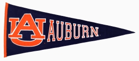 Auburn Tigers Vintage Traditions Pennant