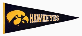 Iowa Hawkeyes Vintage Traditions Pennant