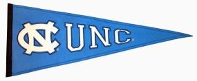 North Carolina Tar Heels Vintage Traditions Pennant