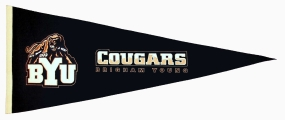 Brigham Young Cougars Vintage Traditions Pennant