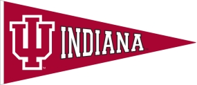 Indiana Hoosiers Vintage Traditions Pennant