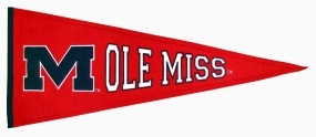 Mississippi Rebels Vintage Traditions Pennant