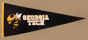 Georgia Tech Yellow Jackets Vintage Traditions Pennant
