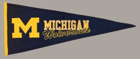 Michigan Wolverines Vintage Traditions Pennant