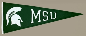 Michigan State Spartans Vintage Traditions Pennant