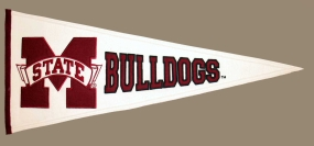 Mississippi State Bulldogs Vintage Traditions Pennant