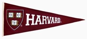 Harvard Crimson Vintage Traditions Pennant