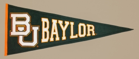 Baylor Bears Vintage Traditions Pennant