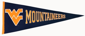 West Virginia Mountaineers Vintage Traditions Pennant