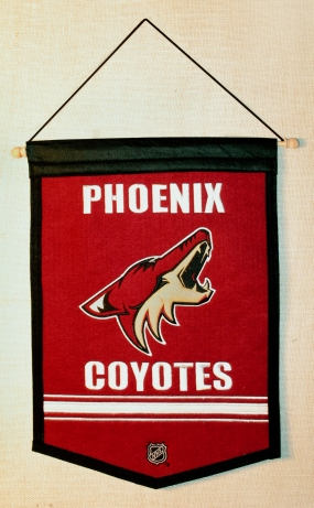 Phoenix Coyotes Traditions Banner Traditions Pennant