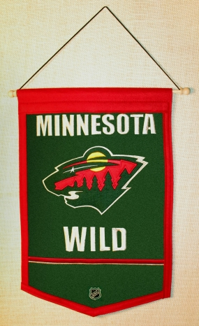 Minnesota Wild Traditions Banner Traditions Pennant