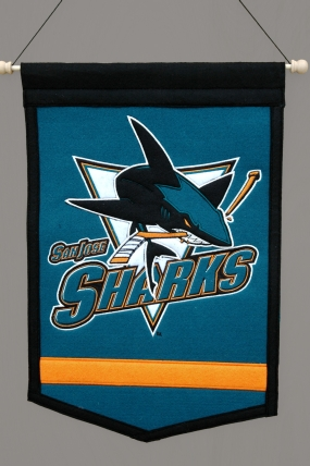 San Jose Sharks Traditions Banner Traditions Pennant