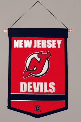 New Jersey Devils Traditions Banner Traditions Pennant