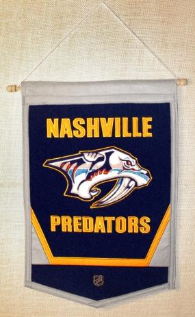 Nashville Predators Traditions Banner Traditions Pennant