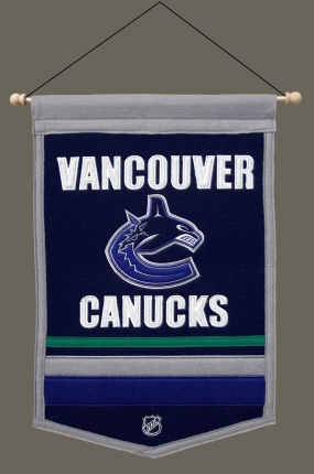 Vancouver Canucks Traditions Banner Traditions Pennant
