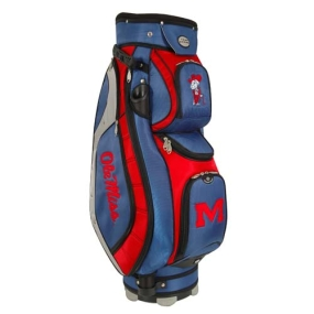 Mississippi Rebels Letterman's Club II Cooler Cart Bag