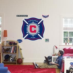 Chicago Fire Logo Fathead